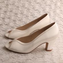 1d0013ca136 Block Heel Wedding Shoes for Bridesmaids Cerise