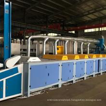 China Waste Cotton Fiber Cutting Rag Tearing Recycling Machine