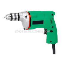 GOLDENTOOL 350w mano de potencia mini artesanía Hobby taladro máquina de perforación portátil pequeño 10 mm de taladro eléctrico