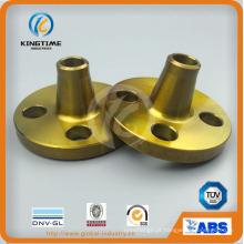 Flange forjada do aço carbono ASME B16.5 Flange A105n Wn (KT0389)