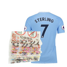 PET material Sheets plastisol printed labels Clothing Offset print transfer stickers for Jerseys customization
