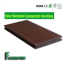 Co-Extrusion Wood Plastic Composite WPC Flooring WPC Garden Decking