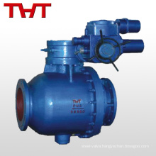 Factory electric motor metal seated ball valve dn 200