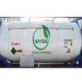 OEM disponible réfrigérant hfc-R407C non rechargeable Cylindre 11.3 kg Port pour le marché de l'Indonésie