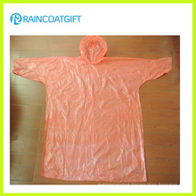 Cheap Sleeve PE Disposable Raincoat Rvc-170