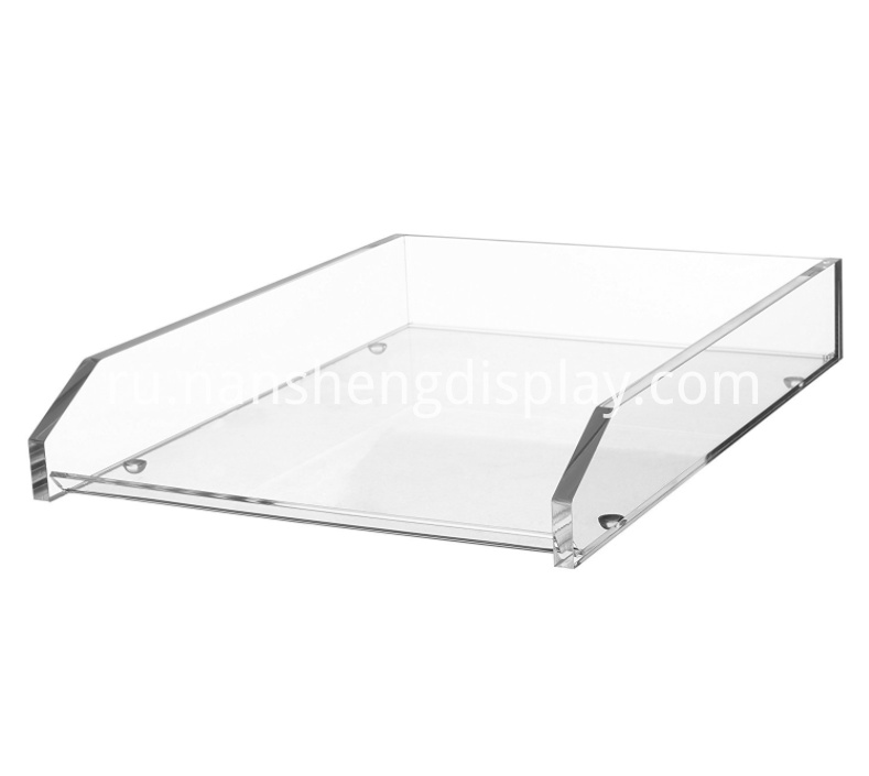 Acrylic Office Storage Tray