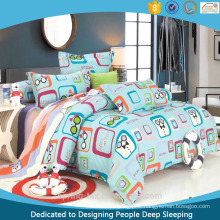 Cotton Pigment Printed Kids Bedding Set Glass