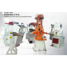 Three / Single Phase Automatic Shoe Making Production Line For Safety Shoes