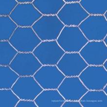 Grillage hexagonal enduit de PVC
