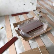 Instalación de clavos para pisos de madera Balsamo