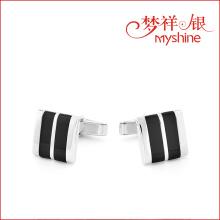 Myshine abalone shell stone jewelry designer cufflinks