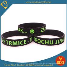 2014 Eco-Friendly Debossed Logo Armband für Promotion