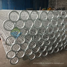 FORST alto rendimiento industrial de acero bolsa de filtro de jaula Proveedor