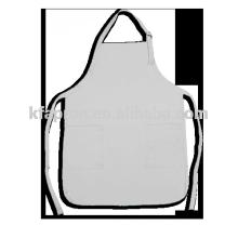 Barista weiße Schürze benutzerdefinierte Logo