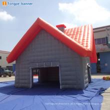Venda quente nova tenda inflável com luz led e ventilador 110 v