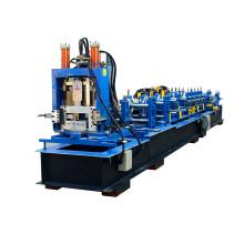 Schnelle geänderte Größe C-Abschnitt Purlin-kalte Rolle, die Maschine bildet