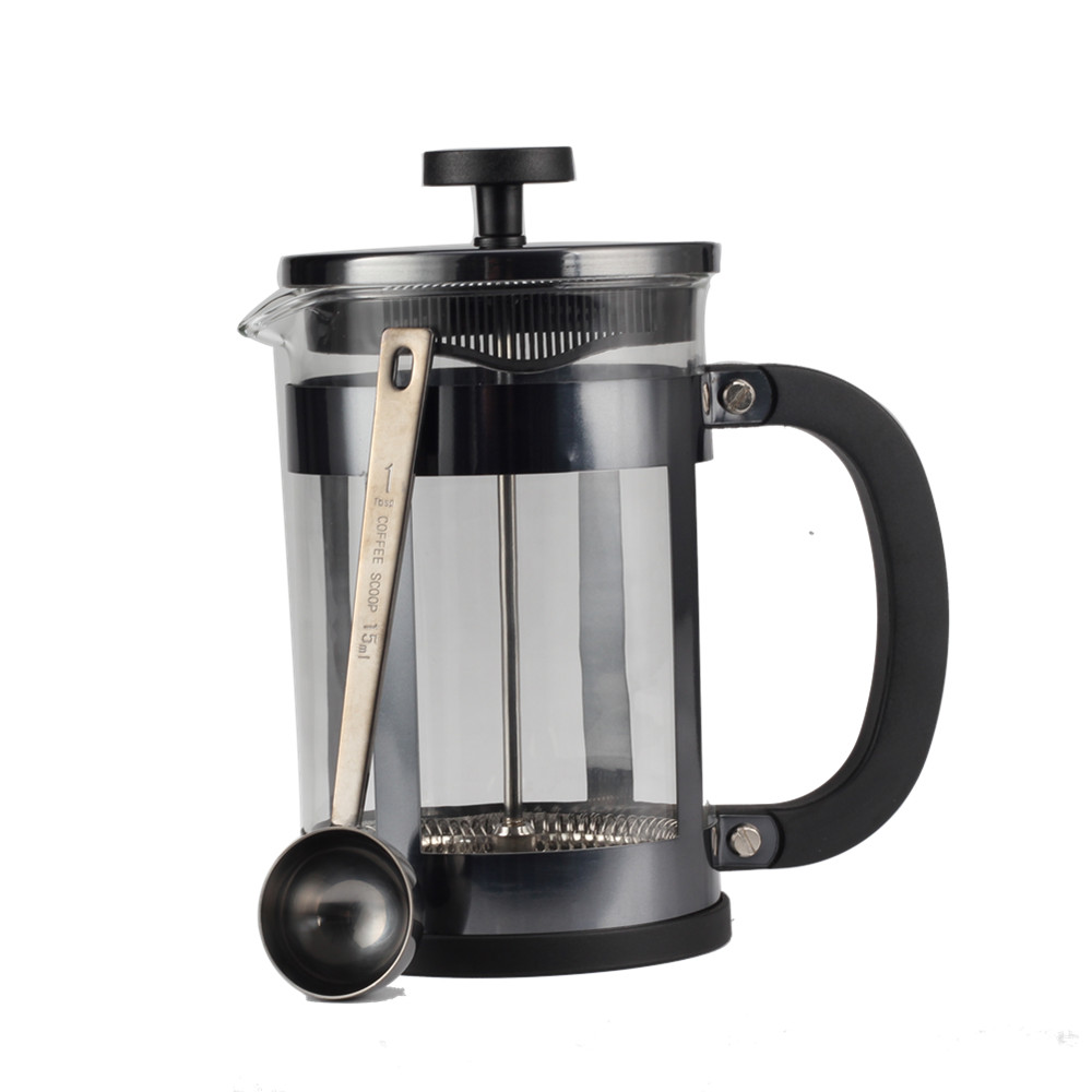 High Quality French Press With Coffee Spoon