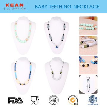 I-Teething Pain Relief Relief ye-Silicone baby teething umgexo