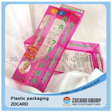 Durchsichtiger Plastikverpackungskuchen / Geschenkbox
