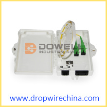 2 Core Fiber Optic Distribution Box