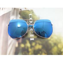 El marco circular, lindo, estilo de moda gafas de sol de seguridad para niños (mk01004b)