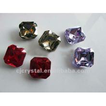 Piedra cristalina para la boda, rhinestones de cristal decorativos de la manera