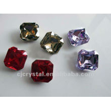 Pedra de cristal para casamento, moda rhinestones de vidro decorativo
