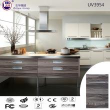 Holzkorn Farbe Küchenschrank für Kleine Küche Design
