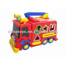 Электрический блок пожарный двигатель с музыкой baby музыкальная игрушка
