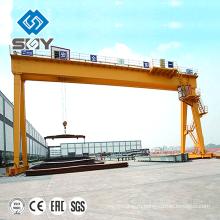 Мраморный блок Козловой кран 50 тонн