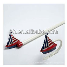 boat shape new designs curtain rods, hang decorative curtain rods, decorative double curtain rods