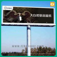 Sinal de banner ao ar livre outdoor