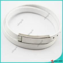 2016 nouveau Design Wrap Charm Bracelet en cuir pour les femmes