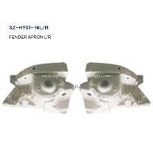 Steel Body Autoparts HYUNDAI 2011 ACCENT FENDER APRON