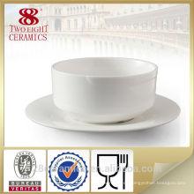 Cuenco de cerámica de la mano al por mayor, cuenco chino de sopa de porcelana conjunto