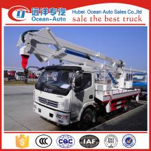 Dongfeng 12-18m alto coche de la plataforma del trabajo aéreo con la impulsión de la mano derecha (altura de trabajo máxima 18 m)