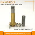 Copper Yellow Solenoid Valve Stem With 10mm Diameter