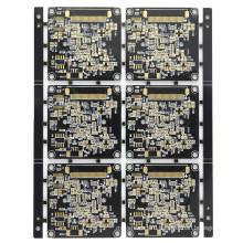 Black color 1.6mm 1OZ 8L PCB
