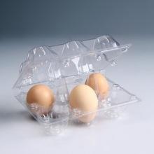 6 buracos de plástico descartável plástico bandeja de ovo