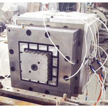 WPC post extrusion die head and mould