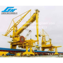 Coal Sand and Cement Discharge Crane