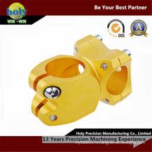 Выполненный на заказ CNC алюминия подвергая механической обработке поворачивая части согласно чертежам