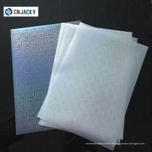 Película de laminación de alta calidad PET / EVA A4 de alta calidad