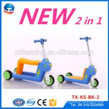 Drei Wheeled Scooter 3.5kg Faltbare Kinder Space Scooter Kinder Roller Kick