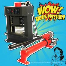 Neue Ankunfts-nicht Notwendigkeits-Luft-Kompressor-Handbuch Rosin-Technologie-Hitze-Presse 20 Ton-Kolophonium-Presse