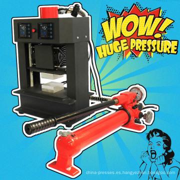Nueva llegada no necesita aire Compresor Manual Rosin Tech Heat Press 20 Ton Rosin Press