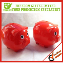 Promotion Pig Shape Plastic Piggy Bank ATM