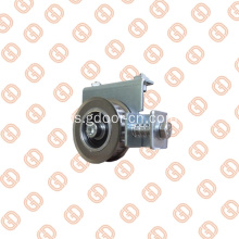 Anti slip Idle Pulleys pintu Hermetik pengendali