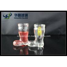 50ml Mini Shoe Shaped Empty Wine Glass Cup
