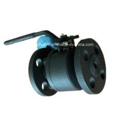 150lb 300lb Válvula de bola de extremo de conexión de brida de acero forjado A105